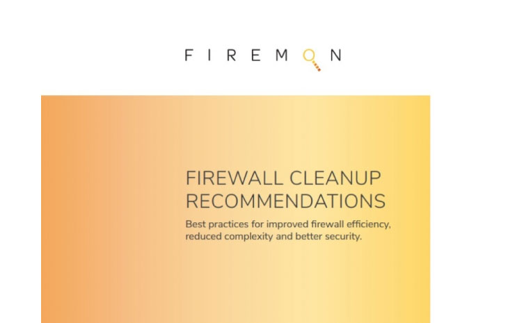 FIREWALL CLEANUP RECOMMENDATIONS